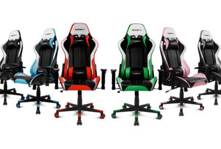 DR175 y DR275, las nuevas sillas gamer de Drift 4