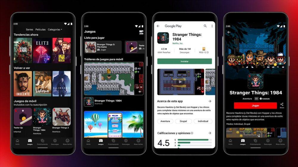 Los juegos de Netflix ya están disponibles en España para Android