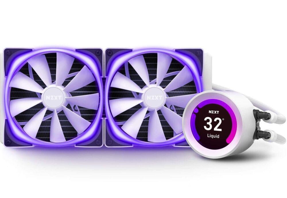 NZXT anuncia sus nuevas refrigeraciones Kraken, ahora disponibles en color blanco 1