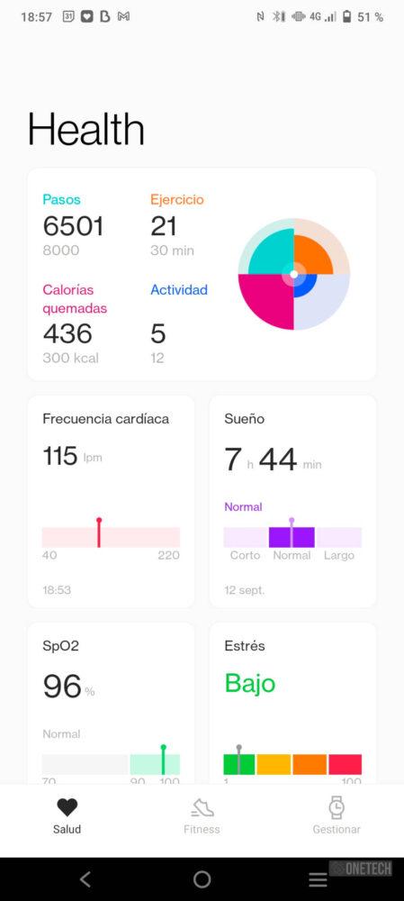 OnePlus Watch, un gran inicio con un futuro prometedor - Análisis 16