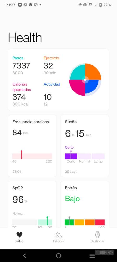 OnePlus Watch, un gran inicio con un futuro prometedor - Análisis 11
