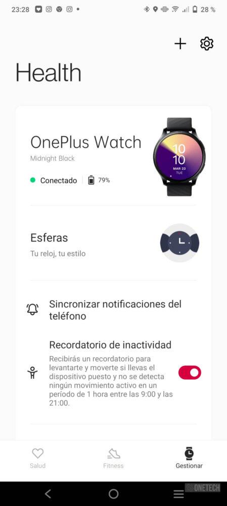 OnePlus Watch, un gran inicio con un futuro prometedor - Análisis 18