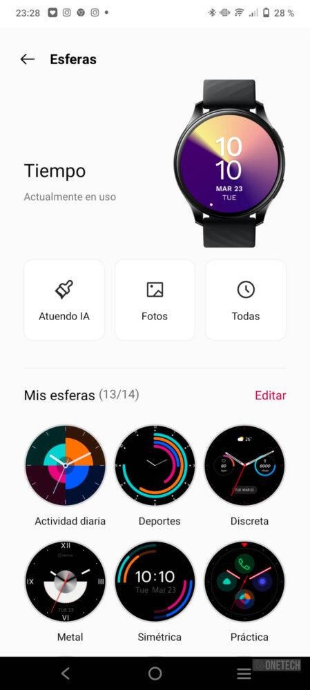 OnePlus Watch, un gran inicio con un futuro prometedor - Análisis 10
