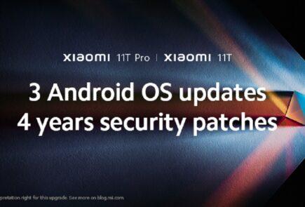 Xiaomi promete tres actualizaciones de Android y cuatro años de parches con los Xiaomi 11T 13