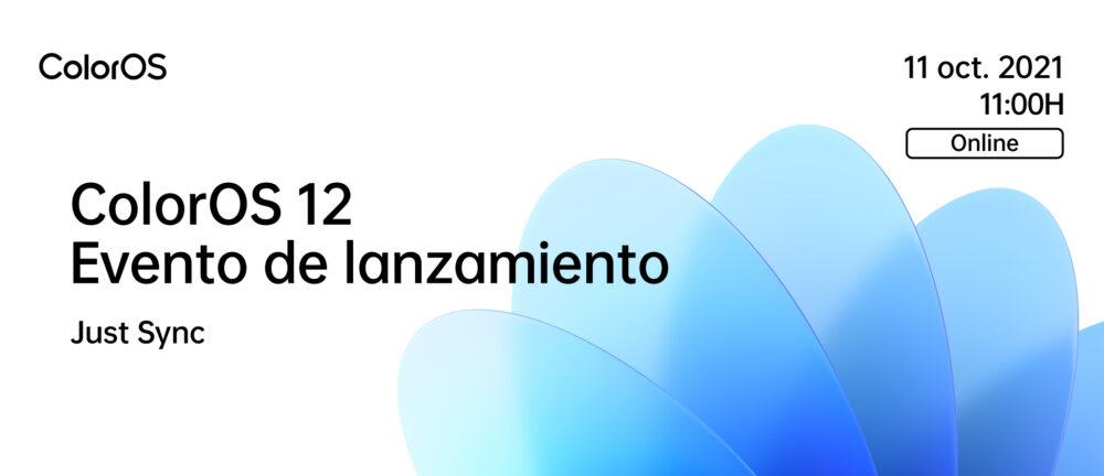 ColorOS 12 basado en Android 12 se presentará de forma global el 11 de Octubre 1