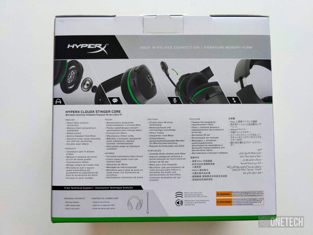 HyperX CloudX Stinger Core Wireless: auriculares inalambricos para Xbox - Análisis 1