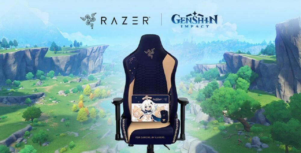 Razer lanza una colección de productos para fans de Genshin Impact