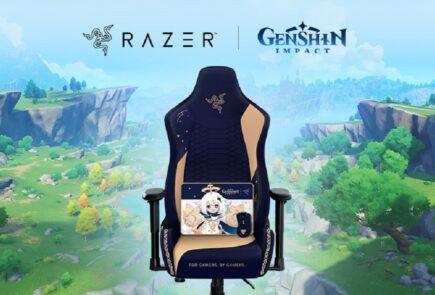 Razer lanza una colección de productos para fans de Genshin Impact 1