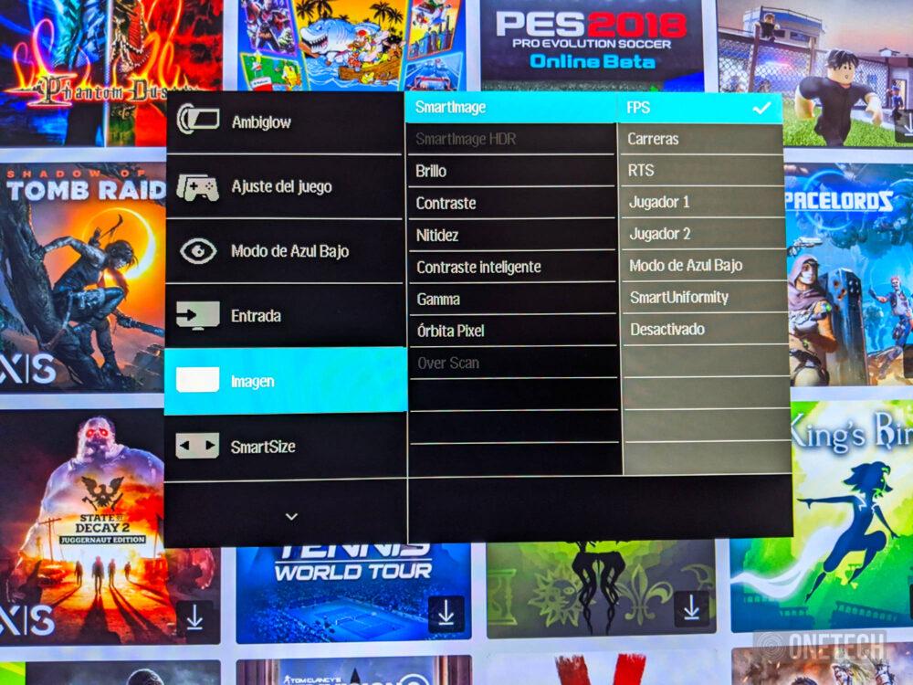 Philips Momentum 278M1R Ambiglow: un monitor que no solo destaca por su iluminación - Análisis 20