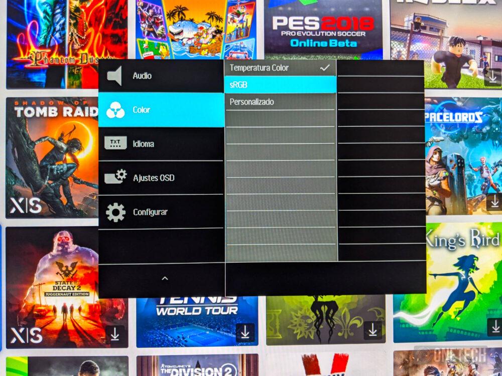 Philips Momentum 278M1R Ambiglow: un monitor que no solo destaca por su iluminación - Análisis 19