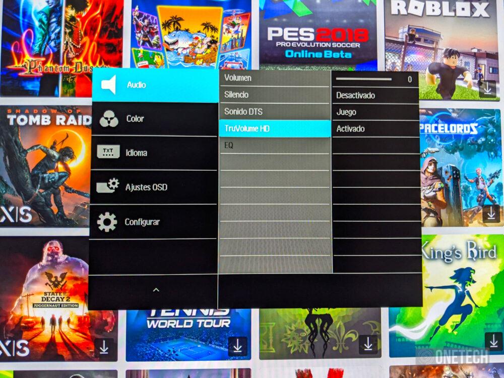 Philips Momentum 278M1R Ambiglow: un monitor que no solo destaca por su iluminación - Análisis 18