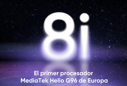 El Realme 8i se presentará el 14 de Octubre en España como el primero con procesador Helio G96 6