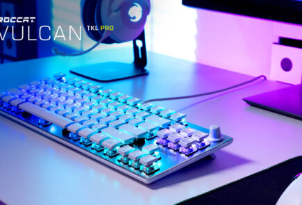 Vulcan TKL Pro White: nuevo teclado mecánico compacto, ahora en acabado Arctic White 23