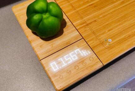 Chopbox: báscula, temporizador, afilador y tabla de cocina con desinfección UV - Análisis 1