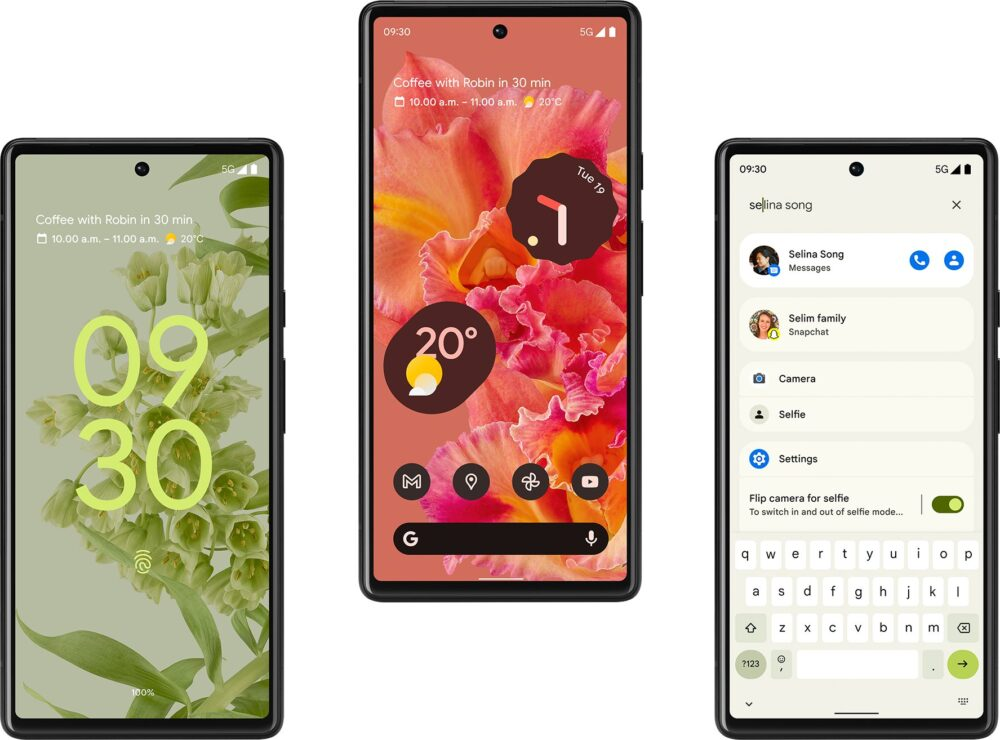 Nuevas imágenes dejan ver en detalle el nuevo Google Pixel 6 6