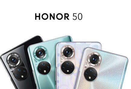 Honor presenta en España los nuevos Honor 50 y Honor 50 Lite 1
