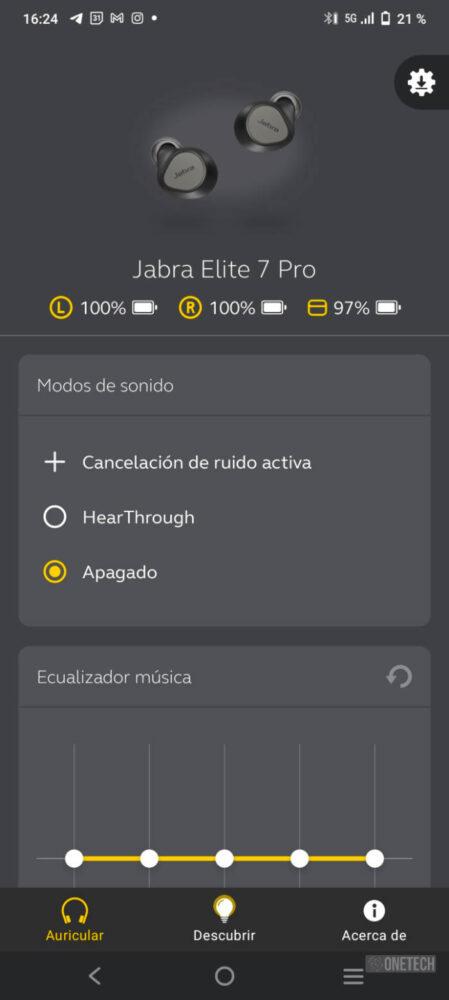 Jabra Elite 7 Pro: calidad en lo que escuchas y cuando te escuchan - Análisis 13