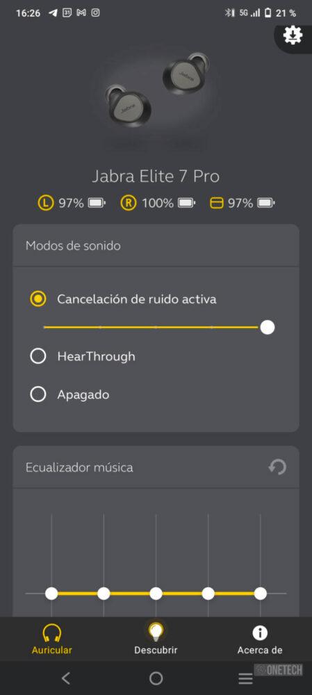 Jabra Elite 7 Pro: calidad en lo que escuchas y cuando te escuchan - Análisis 19