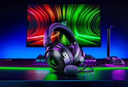 La familia Razer Kraken V3 crece con audio THX Spatial, drivers TriForce y respuesta háptica personalizable 5